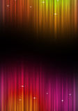 Αφηρημένη πολύχρωμη αφίσα μουσικής Στοκ Φωτογραφίες