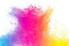 Αφηρημένη πολύχρωμη σκόνη Στοκ φωτογραφία με δικαίωμα ελεύθερης χρήσης