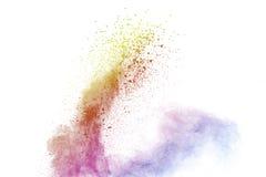 Αφηρημένη πολύχρωμη σκόνη Στοκ Εικόνα