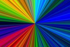 Αφηρημένη πολύχρωμη σύσταση Starburst Στοκ Φωτογραφία