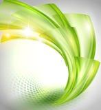 Αφηρημένη πράσινη ανασκόπηση απεικόνιση αποθεμάτων