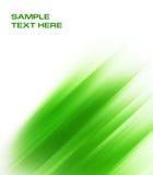 Αφηρημένη πράσινη ανασκόπηση Στοκ Εικόνα