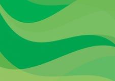 Αφηρημένη πράσινη ανασκόπηση διανυσματική απεικόνιση