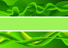 Αφηρημένη πράσινη θέση κειμένων τελών υποβάθρου Στοκ φωτογραφία με δικαίωμα ελεύθερης χρήσης
