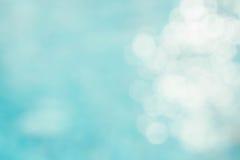 Αφηρημένη πράσινη μπλε θαμπάδα backgruond, μπλε κύμα ταπετσαριών με το s Στοκ Εικόνες