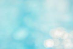 Αφηρημένη πράσινη μπλε θαμπάδα backgruond, μπλε κύμα ταπετσαριών με το s Στοκ Φωτογραφίες