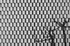 Αφηρημένη πρόσοψη αρχιτεκτονικής Στοκ Εικόνα