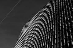 Αφηρημένη πρόσοψη αρχιτεκτονικής Στοκ Φωτογραφίες