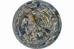 αφηρημένη πόλη ανασκόπησης Στοκ Φωτογραφία