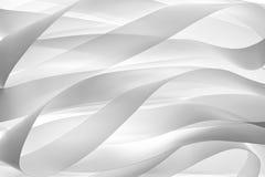 Αφηρημένη σγουρή κορδέλλα Στοκ φωτογραφία με δικαίωμα ελεύθερης χρήσης