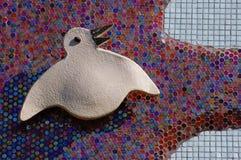 Αφηρημένη σκιαγραφία πουλιών Στοκ εικόνα με δικαίωμα ελεύθερης χρήσης