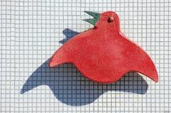 Αφηρημένη σκιαγραφία πουλιών Στοκ Φωτογραφίες