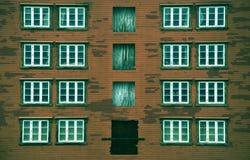 Αφηρημένη σκουριασμένη αρχιτεκτονική Στοκ φωτογραφία με δικαίωμα ελεύθερης χρήσης