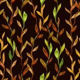 Αφηρημένη συρμένη πράσινο φως απεικόνιση watercolor για το τύλιγμα, υπόβαθρο, κλωστοϋφαντουργικό προϊόν απεικόνιση αποθεμάτων