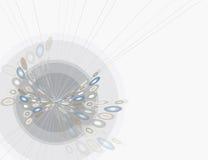 αφηρημένη συστροφή πεταλούδων απεικόνιση αποθεμάτων