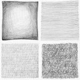 Αφηρημένη συλλογή υποβάθρου κακογραφιών μολυβιών. διανυσματική απεικόνιση