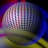 Αφηρημένη σφαίρα disco Στοκ φωτογραφία με δικαίωμα ελεύθερης χρήσης