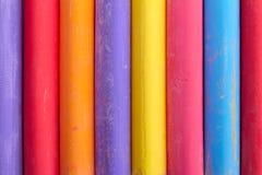 Αφηρημένη σύνθεση κιμωλίας χρώματος κατακόρυφα Στοκ Εικόνες