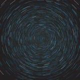 Αφηρημένη σύνθεση της πορείας αστεριών Στοκ φωτογραφίες με δικαίωμα ελεύθερης χρήσης