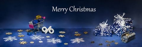Αφηρημένη σύνθεση Χριστουγέννων snowflakes λουλουδιών ανασκόπησης αφαίρεσης μπλε διανυσματικός χειμώνας Στοκ Εικόνα
