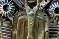 αφηρημένη σύσταση μετάλλων Από τα παλαιά μέρη μετάλλων των μηχανών Στοκ εικόνες με δικαίωμα ελεύθερης χρήσης
