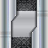 Αφηρημένη σύσταση μορίων υποβάθρου Στοκ Φωτογραφία