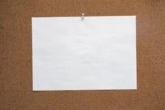 Αφηρημένη σύσταση πινάκων φελλού για την κάρτα εγγράφου σκηνικού Οι κενές σημειώσεις για προσθέτουν τον ιστοχώρο μηνυμάτων κειμέν στοκ εικόνα