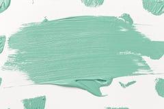 Αφηρημένη σύσταση του χρώματος μεντών σε χαρτί στοκ εικόνες με δικαίωμα ελεύθερης χρήσης