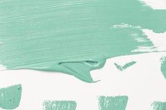 Αφηρημένη σύσταση του χρώματος μεντών σε χαρτί στοκ φωτογραφία