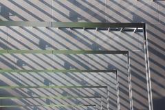 Αφηρημένη σύσταση υποβάθρου της γκρίζας τετραγωνικής μορφής Στοκ εικόνες με δικαίωμα ελεύθερης χρήσης
