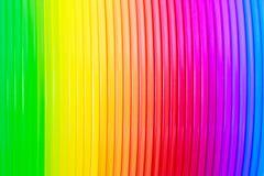 Αφηρημένη σύσταση υποβάθρου του ζωηρόχρωμου χρώματος ουράνιων τόξων Στοκ Φωτογραφίες