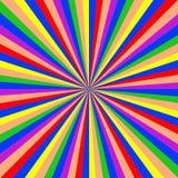 Αφηρημένη σύσταση υποβάθρου starburst Απεικόνιση αποθεμάτων