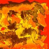 Αφηρημένη σύσταση υποβάθρου Watercolor χειροποίητου Ελεύθερη απεικόνιση δικαιώματος