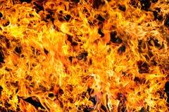 Αφηρημένη σύσταση φλογών πυρκαγιάς φλόγας για τη χρήση υποβάθρου Στοκ φωτογραφία με δικαίωμα ελεύθερης χρήσης