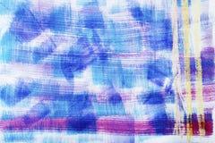 Αφηρημένη σύσταση χρωμάτων στον καμβά, backgroun Στοκ Φωτογραφίες