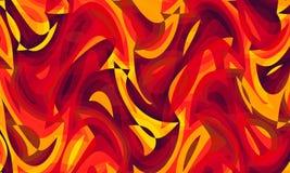 Αφηρημένη τέχνη που χρωματίζει 01 ελεύθερη απεικόνιση δικαιώματος