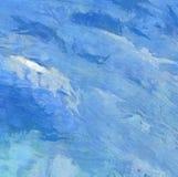 Αφηρημένη τέχνη σύστασης μιγμάτων χρώματος εντύπωσης Καλλιτεχνικό φωτεινό backg απεικόνιση αποθεμάτων