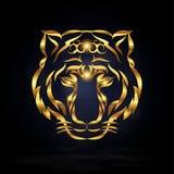 αφηρημένη τίγρη Στοκ Εικόνες