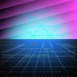 αφηρημένη τεχνολογία έννο&iota διανυσματική απεικόνιση