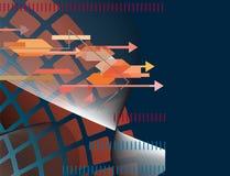 αφηρημένη τεχνολογία ανα&sigm Στοκ φωτογραφία με δικαίωμα ελεύθερης χρήσης