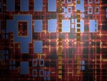 αφηρημένη τεχνολογία ανα&sigm απεικόνιση αποθεμάτων