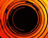 αφηρημένη τεχνολογία κύκλ Στοκ Εικόνα