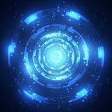 αφηρημένη τεχνολογία ανα&sigm επίσης corel σύρετε το διάνυσμα απεικόνισης Στοκ εικόνα με δικαίωμα ελεύθερης χρήσης