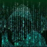 αφηρημένη τεχνολογία ανα&sigm Υπεύθυνος για την ανάπτυξη Ιστού μπλε βαλμένη σε στρώσεις υπολογιστών κώδικα βαθιά οθόνη προγραμματ διανυσματική απεικόνιση