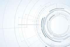 αφηρημένη τεχνολογία ανα&sigm Φουτουριστική διεπαφή τεχνολογίας Vecto Στοκ φωτογραφίες με δικαίωμα ελεύθερης χρήσης