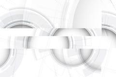 αφηρημένη τεχνολογία ανα&sigm Φουτουριστική διεπαφή τεχνολογίας Vecto Στοκ Εικόνες