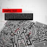 αφηρημένη τεχνολογία ανα&sigm Στοκ φωτογραφίες με δικαίωμα ελεύθερης χρήσης