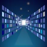 αφηρημένη τεχνολογία ανα&sigm ελεύθερη απεικόνιση δικαιώματος