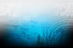 αφηρημένη τεχνολογία ανα&sigm Στοκ Εικόνες