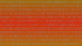 αφηρημένη τεχνολογία ανα&sigm binary code computer Διάνυσμα άρρωστο Διανυσματική απεικόνιση